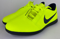 Nike Phantom Venom Club Ic Jr (Sz 3.5Y) Volt,Green,Black AO0399 717 Indoor Shoes