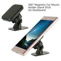 Universal Magnetic Car Mount Bracket Phone Holder Stand Dashboard Suction Cup