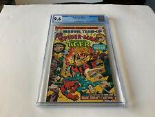 MARVEL TEAM-UP 40 CGC 9.6 SPIDER-MAN SONS OF TIGER MARTIAL ARTS MARVEL COMICS