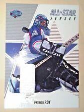 2002/03 BAP Memorabilia AllStar game-used Jersey Patrick Roy ASJ-50 print run 90