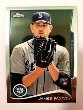 2014 Topps Chrome James Paxton Rookie Mint Hot