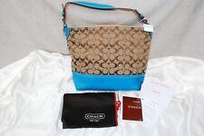 BN Authentic Coach Signature Shoulder Tote Handbag