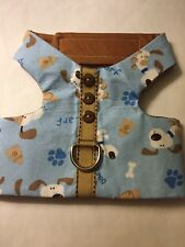 Blue Doggie Dog Harness Vest  XS 84-85