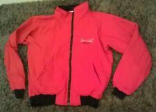 VERY RARE 1995 VTG Sun Valley Idaho Allen & Company Jacket Zip Up Mens M Red