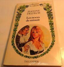 Book in French LES NOCES DE MINUIT Livre en Francais COLLECTION 4 COULEURS