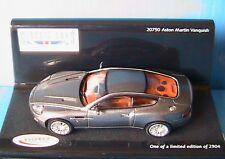 ASTON MARTIN VANQUISH SILVER VITESSE 20750 1/43 CAR MODEL GREY GRIS