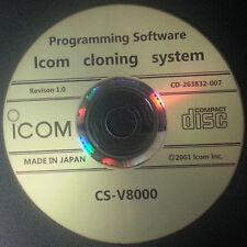 ICOM CS-V8000 Programming Software for the IC-V8000