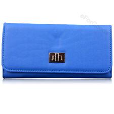 New Women Fashion PU Leather Wallet Cross Clutch Purse Lady Long Handbag Bag