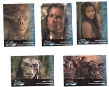 The Time Machine Promo Trading Carte Ensemble (5) Sdcc 2001