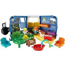 Fisher-Price Little People Songs And Sounds Camper FREE SHIPPING