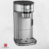 Single Serve Coffee Maker Stainless Steel 1 Cup Coffeemaker HAMILTON BEACH