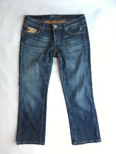 Miss Me [Size 27x25] Crop Bootcut Dark Wash Blue Jeans #G12