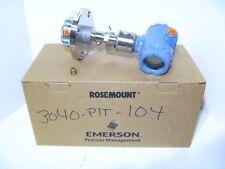 Rosemount 3051S1 TG2A2B11A1ADA2E5M5Q4 0-120PSI Transmitter w/ 1199 Seal 2013 NEW