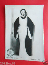 figurines actors akteur figurine cigarettes card cia tabacos L 56 catalina burke