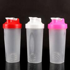 Stylish 600ml Smart Shake Gym Eiweiß Shaker Tasse Schneebesen Flasche