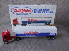 Truck 1/64 Scale Die-cast Metal ERTL Highly Detailed Mack Cab w/Trailer