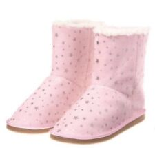 Gymboree Starry Night Girls Pink star fur lined boots Baby NEW NWT Size 4