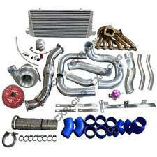 Single Turbo Intercooler Manifold Downpipe Kit For SC300 2JZ-GTE Swap 2JZGTE