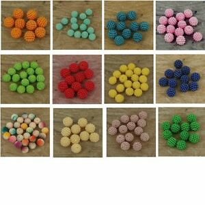 Pearl Cluster Resin Pearls Craft Beads Gems  12 mm Size , pack of 50 . P20
