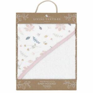 Living Textiles Organic Hooded Towel Botanical