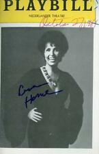 LENA HORNE SIGNED BROADWAY PLAYBILL
