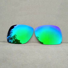 Green Mirrored Replacement Lenses for-Oakley Deviation Polarized