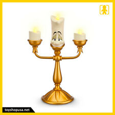 """Disney Parks Beauty and the Beast 11"""" Lumiere Light-Up Candlestick Figurine"""