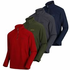 Regatta Mens Elgor Fleece Half Zip Long Sleeved Top Jumper Pullover Sweater