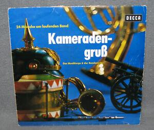Schallplatte Musikkorps 6 der Bundeswehr Kameradengruß Major Scholz Vinyl LP