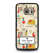 KATE SPADE ABLE Samsung Galaxy S3 S4 S5 S6 S7 Edge Plus Note 3 4 5 Case Cover