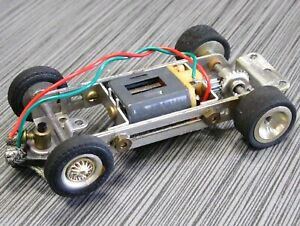 SLOT CAR Nice REVELL Complete Adjustable CHASSIS VINTAGE 1/32 SCALE
