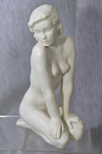 "Rosenthal Porzellan Figur L. F. Gronau ""Die Kniende"" Frauenakt"