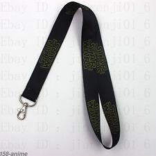 Movie Star Wars Cartoon Lanyard Neck Strap Badge ID Running Holder Key Chains