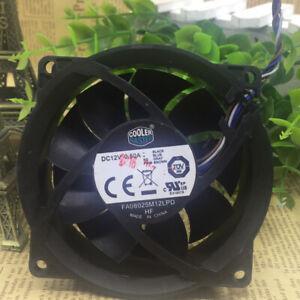CoolerMaster 80*80*25MM FA08025M12LPD 12V 0.50A 804057-001 fan CPU fan