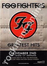 Foo Fighters Greatest Hits LP Advert