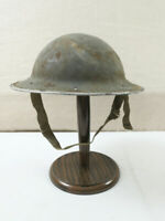 #38 Englischer WW2 Tellerhelm Stahlhelm Nordafrika Tunesien Afrika Feldzug