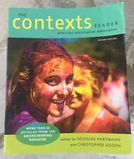 The Contexts Reader 2nd Edition (2011, Paperback) Douglas Hartmann