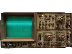 MINT COND GERMAN Hameg HM 208 Two channel Digital storage oscilloscope 2 probes.