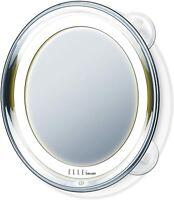 miroir ELLE cosmétique grossissant à Led fixation fléxible ou fixe Beurer