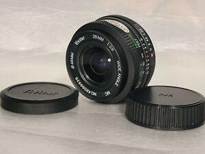 VIVITAR MC 28mm F/ 2.8 Lens Clean Tested