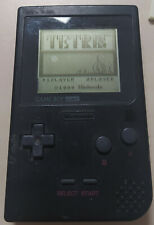 !!! Nintendo Game Boy Pocket Schwarz Spielkonsole + Spiel TETRIS