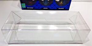 5 Box Protectors For FUNKO DORBZ 3 Packs  X-Men, Wreck it Ralph Etc. Clear Cases