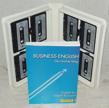 German: Learn Business English for Import & Export ~ 8 Cassettes with AsNewBook