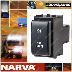 Narva Switch W/ Aux Light for nissan Pathfinder R51 Navara D40 Patrol GU X-Trail