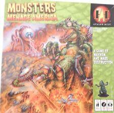 MONSTERS MENACE AMERICA Avalon Hill Board Game 2005