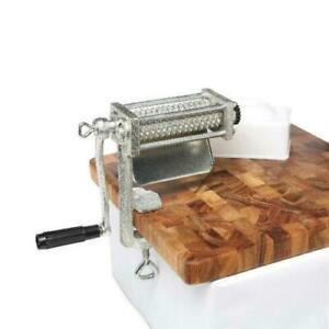 Meat Tenderizer Cuber HEAVY DUTY Steak Machine Flatten Cast Iron Kitchen Tool