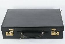 valisette ataché-case cuir, noir Quality leather little briefcase black