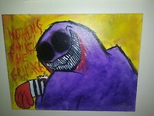 """'Nothing Can Kill The Grimace' Original Painting on 16x12"""" Canvas"""