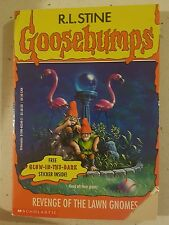 Goosebumps #34 - Revenge Of The Lawn Gnomes - R L Stine - Fast Free Post!