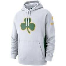 Nike NBA Courtside City Edition Hoodie Boston Celtics White Size 3XL XXXL AJ2835